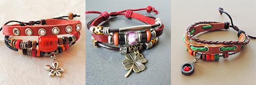 Leren armbandjes: Super leuk om je polsen mee te versieren deze herfst!
