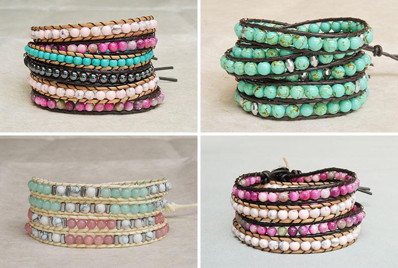 Wrap armbanden zijn de perfecte accessoires!
