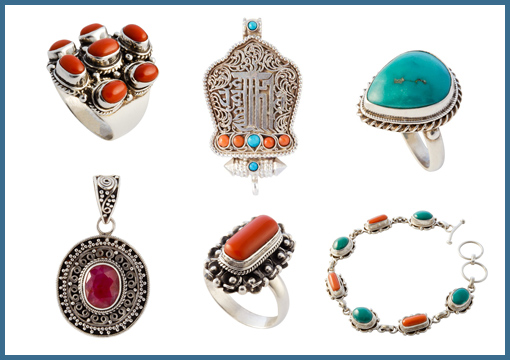 Nieuwe collectie zilveren sieraden uit Tibet en Nepal